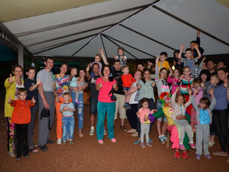 Детские праздники на ВОЛНЕ Поднебесной в Канаке.